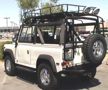 Rover Connection Land Defender Safari Roof Rack