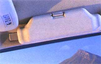 Ciel de toit en Alcantara Glassholder