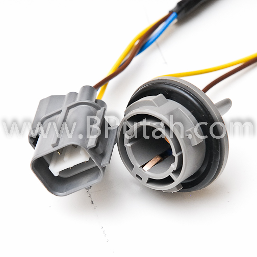 Land_Rover_Discovery_Taillamp_Taillight_Tail_Lamp_Light_Bulb_Holder_Socket_Wiring_YND000050 2 landrover discovery genuine oem factory upper taillamp taillight Wire Harness Assembly at fashall.co