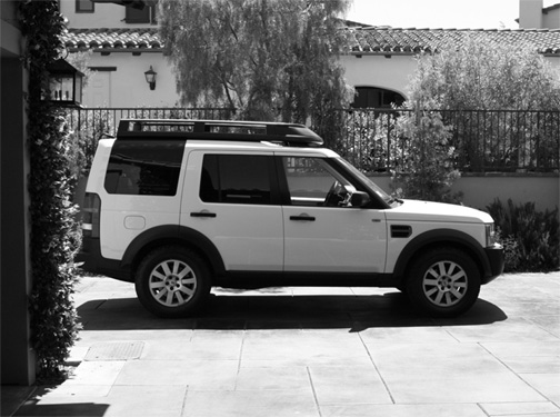 Land Rover LR3 Genuine Expedition Roof Rack