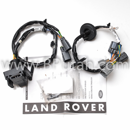Land_Rover_LR3_Trailer_Wiring_Harness_YWJ500220 land rover lr3 genuine oem factory trailer tow wiring harness lr4 tow wiring harness at soozxer.org