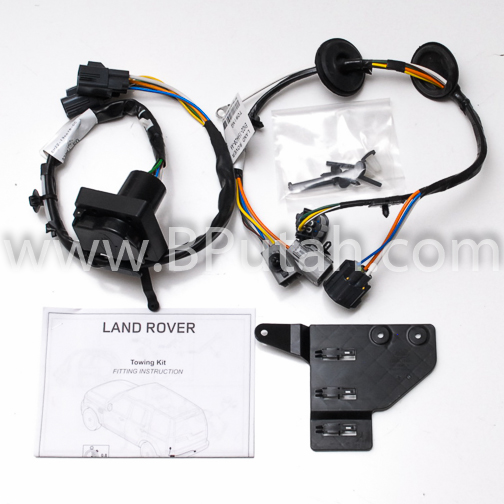 Land_Rover_LR4_Trailer_Wiring_Harness_VPLAT0137 land rover lr4 genuine oem factory trailer tow wiring harness 2011 land rover lr4 trailer wiring harness at couponss.co