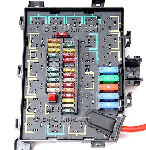1995 land rover fuse box diagram range rover p38a 4.0/4.6 genuine oem factory fuse box