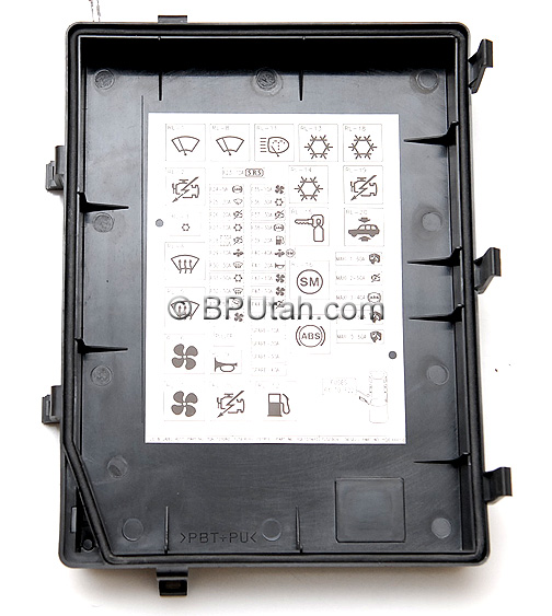 range rover p38a 4 0 4 6 genuine oem factory fuse box if you reside outside of the united states please email for availability and shipping estimate utah residents state and local s tax will be added to