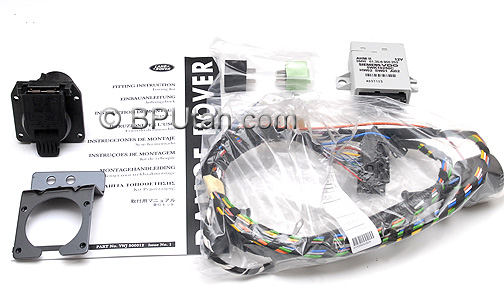 Range_Rover_Trailer_Wiring_Harness_YWJ500012_A range rover genuine oem factory trailer tow wiring harness ywj500012 2004 range rover trailer wiring harness at aneh.co