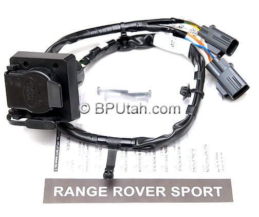 range rover sport genuine oem factory trailer wiring harness vplst0016 vplst0072