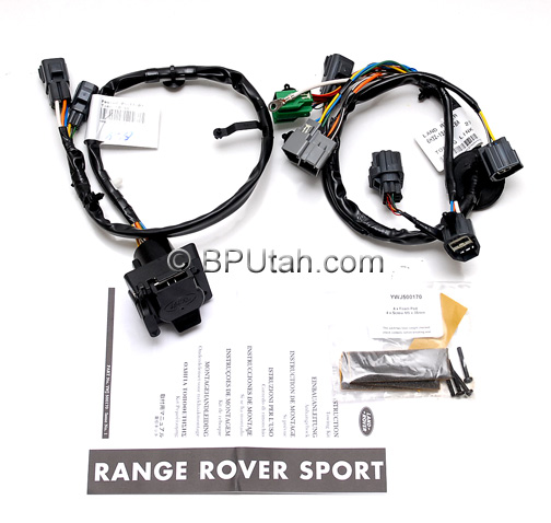 Range_Rover_Sport_Trailer_Wiring_Harness_YWJ500170_A range rover sport genuine oem factory trailer wiring harness 4 Flat Trailer Wiring Harness at crackthecode.co