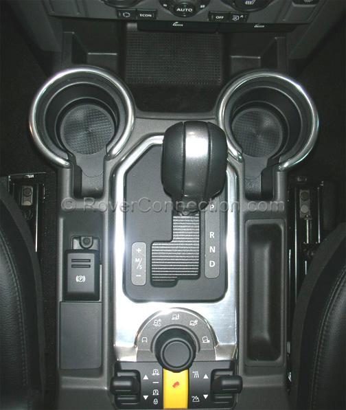 Land Rover Lr3 Genuine Aluminum Interior Trim Kit