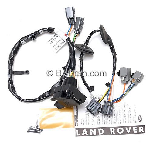 land rover lr4 genuine oem factory trailer tow wiring harness rh bputah com tow ready trailer wiring harness honda pilot trailer tow wiring harness 2012