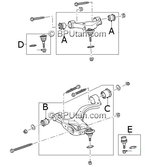 range rover sport genuine oem factory front control arm